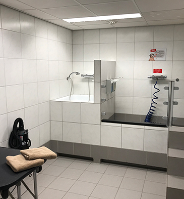 Hondenbadkamer